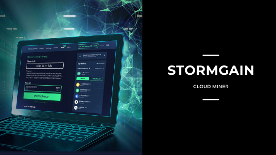 Stormgain Cloud Mining